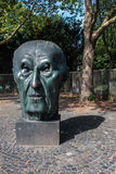 Monument of German chancellor Adenauer Stock Photo