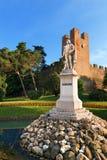 Monument of Giorgione Castelfranco Veneto - Italy Royalty Free Stock Photos