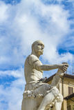 Monument of Giovanni delle Bande Nere in Florence Stock Image