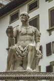 Monument of Giovanni delle Bande Nere in Florence Royalty Free Stock Photos