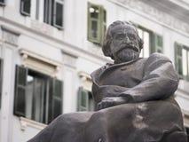 Monument of Giuseppe Verdi Stock Photo