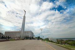 Monument of glory in Samara Royalty Free Stock Photography