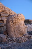 Monument of gods on nemrut mountain Stock Photography