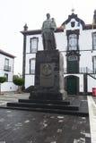 Monument Goncalo Vaz Botelho arkivfoto