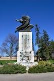 Monument of Gratitude to France. Kalemegdan Park, Belgrade, Serbia. Sunny day, blue sky, no clouds Royalty Free Stock Photography