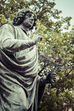 Monument of great astronomer Nicolaus Copernicus, Torun, Poland Royalty Free Stock Photo