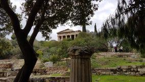 Monument grec vieux Photographie stock