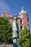 Monument of Hans Christian Andersen in Copenhagen Stock Photography
