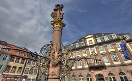 Monument in Heidelberg, Germany Royalty Free Stock Photography