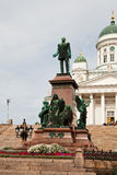 Monument in Helsinki Royalty Free Stock Photo