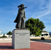 Monument  Henry the Navigator, Sagres, Portugal Royalty Free Stock Photo