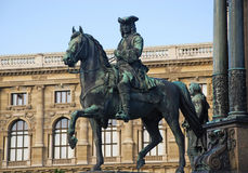 Monument in Hofburg (Wenen, Oostenrijk) stock afbeeldingen