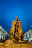 Monument In Honor Of The National Poet And Writer Royalty Free Stock Image