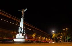 Monument i Bucharest Arkivfoto