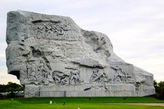 Monument i den Brest fästningen Arkivbild