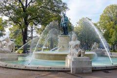 Monument i den Colmar staden, Frankrike Fotografering för Bildbyråer