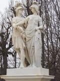 Monument i den Schunbrunn slotten på Österrike Arkivfoton