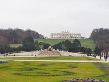 Monument i den Schunbrunn slotten på Österrike Royaltyfri Fotografi