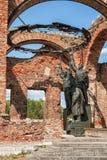 Monument i fästning av Oreshek Royaltyfri Bild