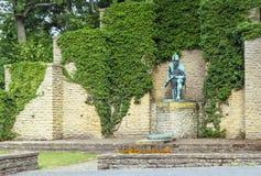 Monument i Goslar, Tyskland Arkivbild