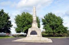 Monument i heder av den 800. årsdagen av Vologda Royaltyfria Foton