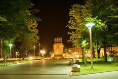 Monument i Kielce Royaltyfri Bild