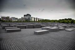 Monument i minnet av förintelsen Fotografering för Bildbyråer