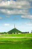 Monument i Minsk Arkivbild