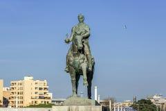 Monument i Porto arkivbild
