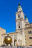 Monument i Salzburg Österrike Royaltyfri Bild
