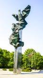 Monument i Szczecin Royaltyfri Bild