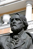 Monument of I. Turgenev Stock Photos