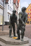 Monument-I-Waiblingen Royalty-vrije Stock Foto's