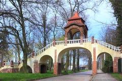 Monument in Ilowa Polen Royalty-vrije Stock Afbeeldingen