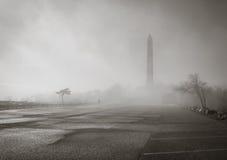 Monument im Nebel Lizenzfreie Stockfotografie