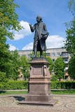 Monument of Immanuel Kant in Kaliningrad, Russia Stock Photo