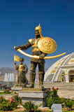 Monument of independence in Ashgabat Royalty Free Stock Photos
