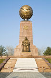 Monument of Independence and Humanism Stock Image