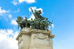 Monument of independence in Ipiranga, Sao Paulo, Brazil.  Royalty Free Stock Photos