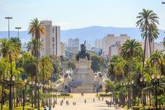 Monument of independence in Ipiranga, Sao Paulo, Royalty Free Stock Image