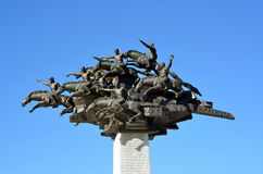 Monument of Independence in Izmir Royalty Free Stock Images