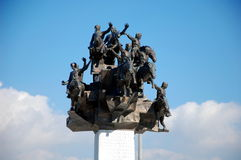 Monument of Independence in Izmir Stock Photos
