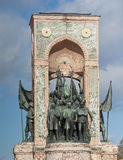 Monument of Independence in Taksim Istanbul Royalty Free Stock Images