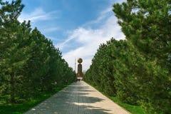 Monument of Independence in Tashkent, Uzbekistan Royalty Free Stock Image