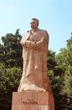 Monument of Ivan Franko (1856-1916), Lviv, Ukraine stock photo