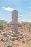 Monument in Jagersfontein Stock Photo