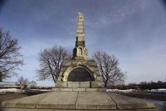 Monument 800 Jahre von Vologda Lizenzfreies Stockfoto