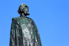 Monument of Jan Hus on the Oldtown Square in Prague Royalty Free Stock Photos