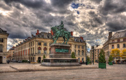 Monument of Jeanne d'Arc in Orleans, France Stock Images