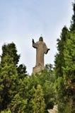 Monument Jesus in Tudela, Spain Royalty Free Stock Photo
